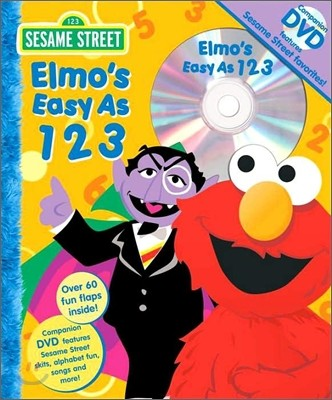 Sesame Street Elmo's Easy As 1 2 3