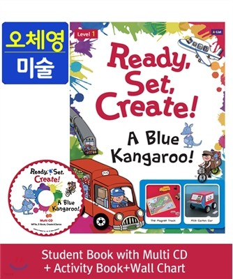 Ready,Set,Create! 1: A Blue Kangaroo! Pack