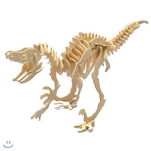 Wood Craft -  VELOCIRAPTOR 공룡만들기