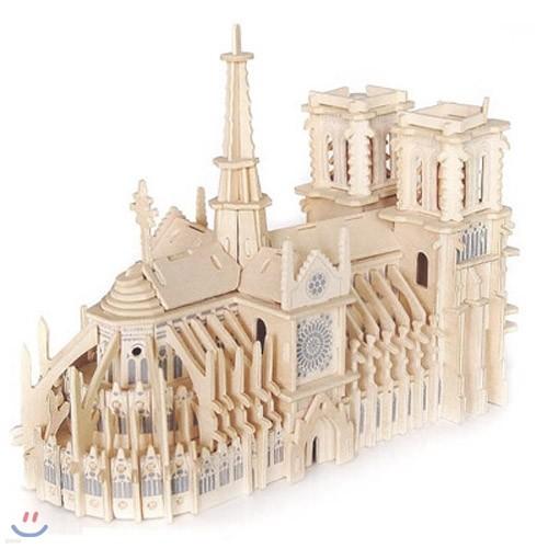 Wood Craft -  Notre-Dame(노트르담 성당)