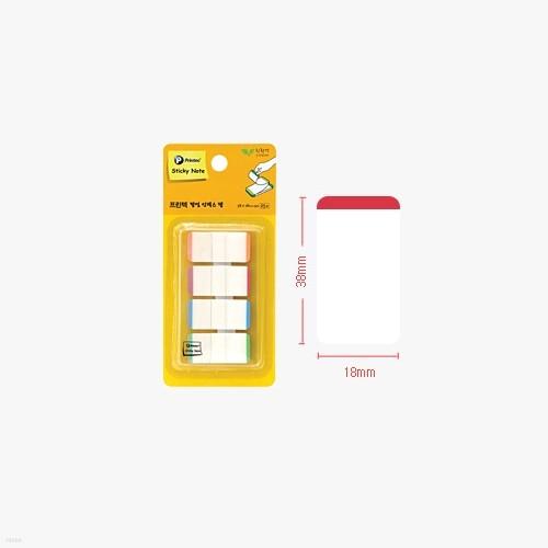 프린텍 파일링인덱스탭 IT3818-4L  스티키 접착메모지 플래그