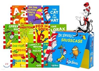 닥터수스 10권 박스 세트 : Dr. Seuss Seusscase 10 Book Box