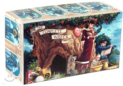 A Series of Unfortunate Events Boxed Set : The Complete Wreck (Books 1-13)