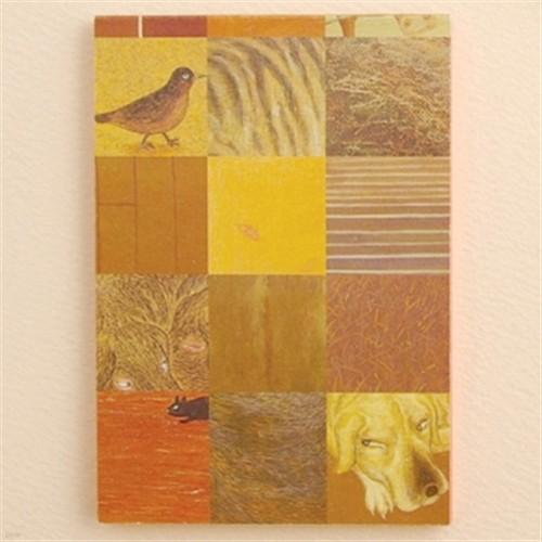유이마루 컬러메모패드-brown/1755