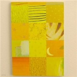 유이마루 컬러메모패드-yellow/1751