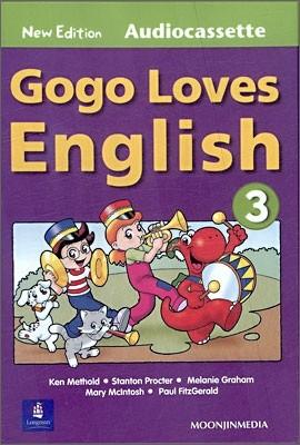 Gogo Loves English 3 : Cassette (New Edition)