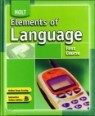 HOLT Elements of Language : First Course (Grade 7)