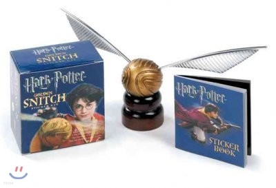 Harry Potter Golden Snitch and Sticker Book