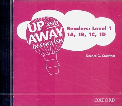 Up and Away in English : Readers Level 1 - 1A, 1B, 1C, 1D (Audio CD)