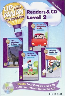 Up and Away in English Readers & CD : Level 2