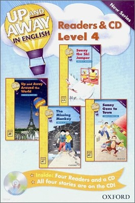 Up and Away in English Readers & CD : Level 4