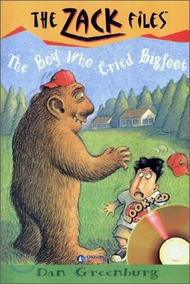The Zack Files 19 : The Boy Who Cried Bigfoot (Book+CD)