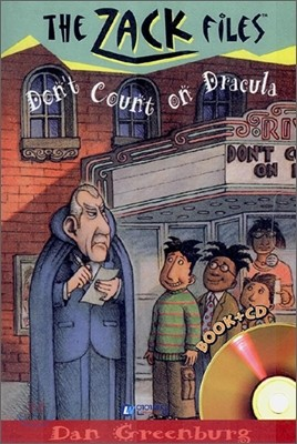 The Zack Files 21 : Don't Count on Dracula (Book+CD)