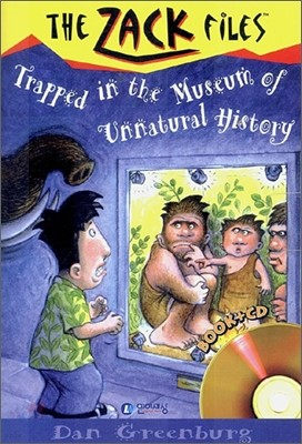 The Zack Files 25 : Trapped in the Museum of Unnatural History (Book+CD)