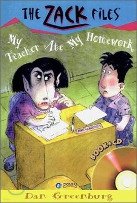 The Zack Files 27 : My Teacher Ate My Homework (Book+CD)