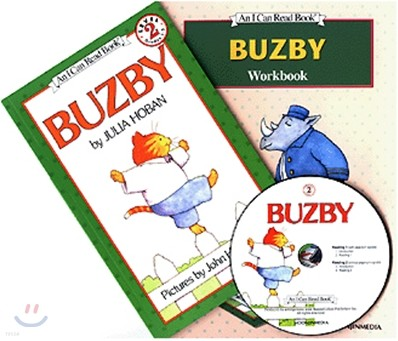 [I Can Read] Level 2-10 : Buzby (Workbook Set)