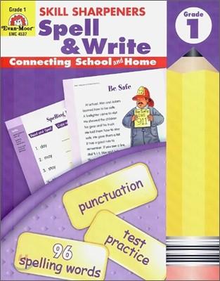 Skill Sharpeners Spell & Write Grade 1