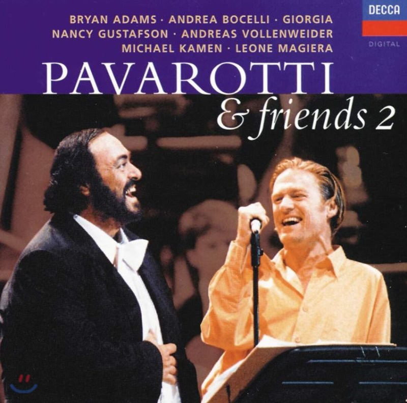 파바로티와 친구들 2집 (Luciano Pavarotti & Friends 2)