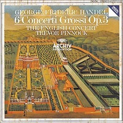 헨델 : 6 합주 협주곡 Op.3 - 트레버 피노크