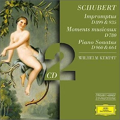 Wilhelm Kempff 슈베르트 : 피아노 소나타 (Schubert : Impromptus D 899 & 935ㆍMoments musicaux D 780ㆍPiano Sonatas D 960 & 664) 빌헬름 켐프