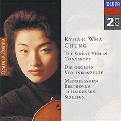정경화 - 유명 바이올린 협주곡집 : 멘델스존, 베토벤, 차이코프스키, 시벨리우스 (The Great Violin Concertos)