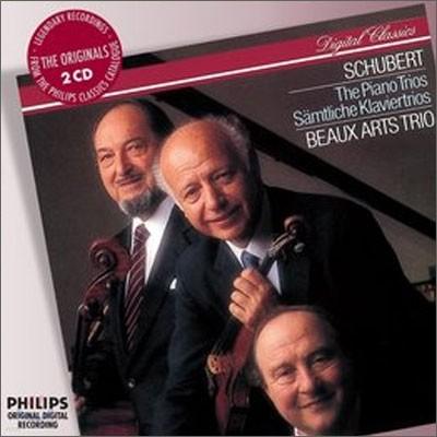 Beaux Arts Trio 슈베르트 : 피아노 삼중주 (Franz Schubert: Piano Trio D. 898, 897, 929, 28) 보자르 트리오