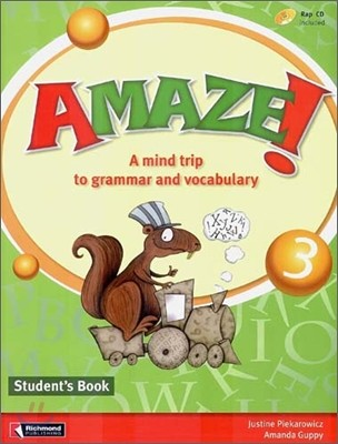 Amaze! 3 : Student Book - A Mind Trip to Grammar and Vocabulary