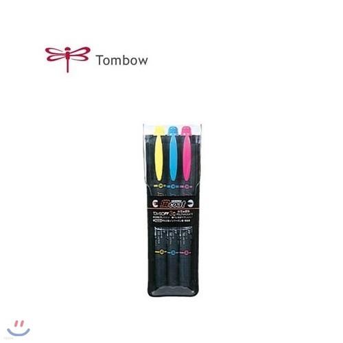 [톰보] 톰보 양면 3색 형광펜 COAT