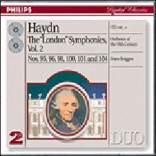 하이든 : 런던 교향곡집 Vol.2 - 프란스 브뤼겐