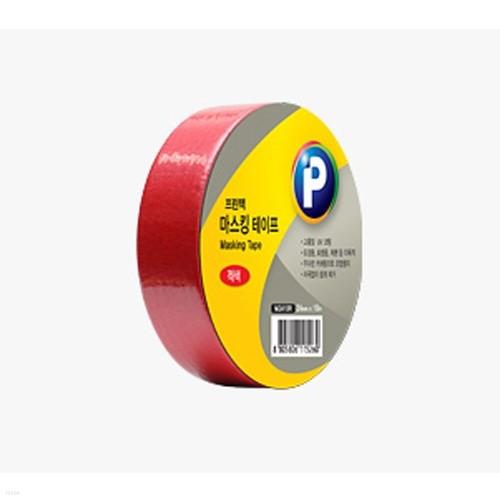 [프린텍] 마스킹테이프/M2410R(빨강)