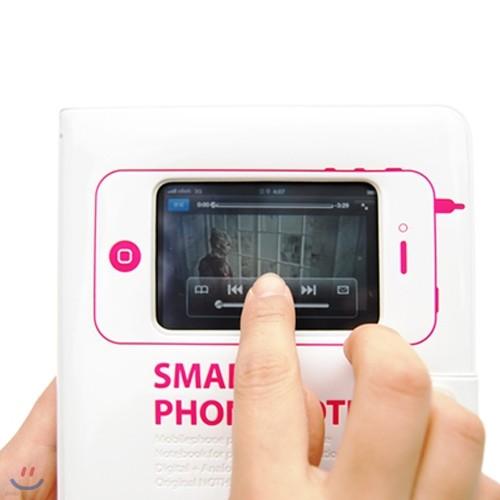 낫씽디자인 SMARTPHONENOTE-iPhone4new스마트폰노트/4014