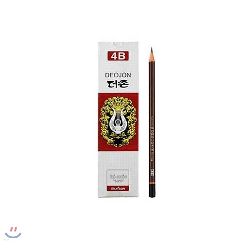 문화 400더존문화연필4B 1타