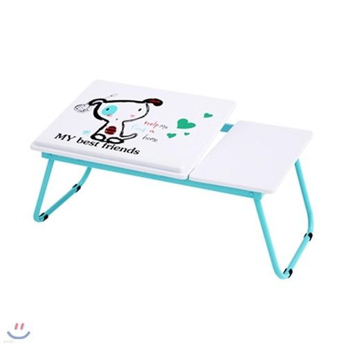 큐티 노트북 테이블 민트