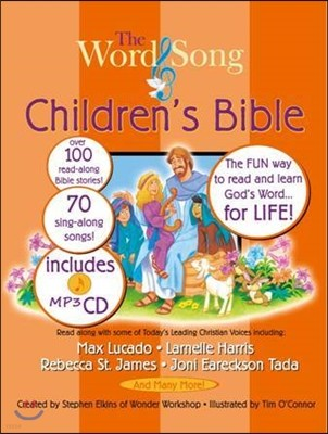 The Word and Song Children's Bible with MP3 CD