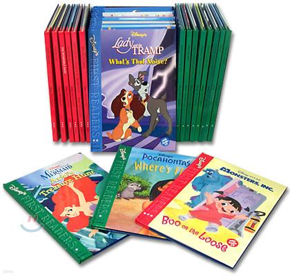Disney's First Readers Book & CD Full Set (Book + CD)