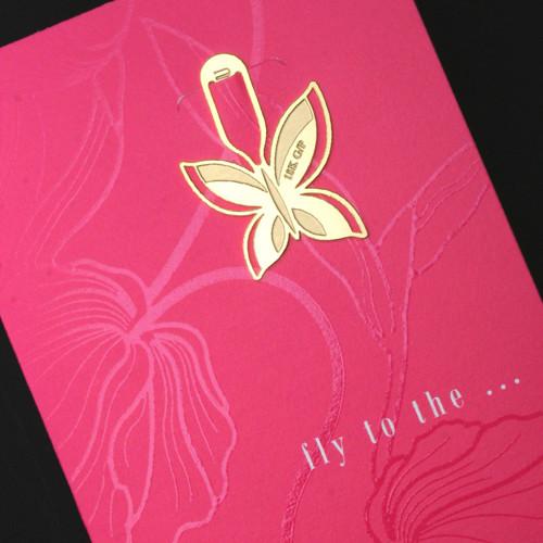 [책갈피 카드] 미니 나비 북찌카드