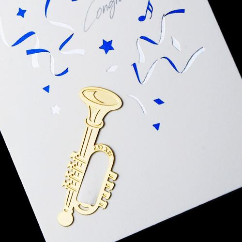 [책갈피 카드] 미니 트럼펫 북찌카드