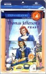 Step Into Reading 4 : Thomas Jefferson's Feast (Book+CD+Workbook)