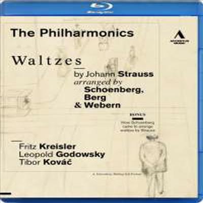 빈 카페 음악회 (신 빈악파가 편곡한 슈트라우스의 왈츠들) (The Philharmonics - Waltzes By Johann Strauss. Aarranged by Schoenberg, Berg & Webern) (Blu-ray) - The Philharmonics