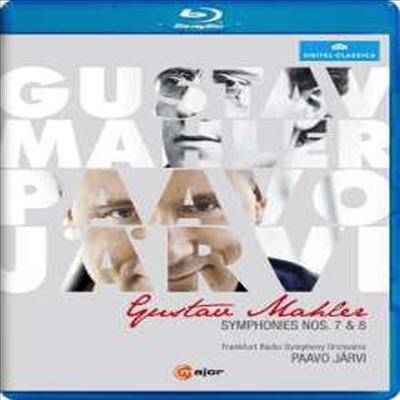 말러: 교향곡 7, 8번 (Mahler: Symphony No.7 & 8) (한글자막)(Blu-ray)(2015) - Paavo Jarvi