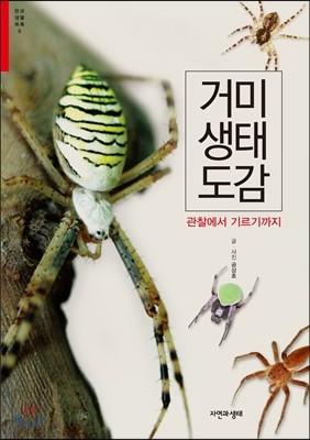 거미 생태 도감