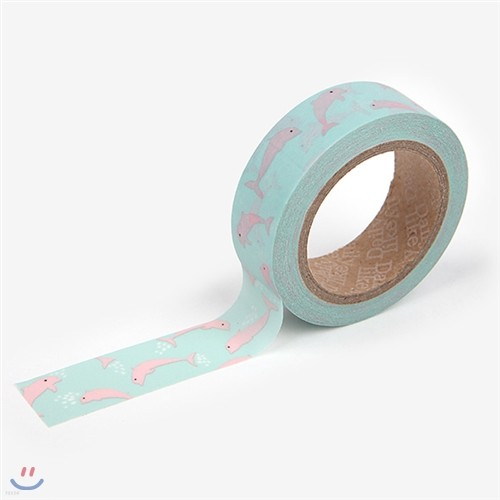 Masking Tape single - 32 Pink dolphin