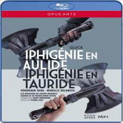 글룩: 아울리드의 이피게니아 & 타우리드의 이피게니아 (Gluck: Iphigenie en Aulide & Iphigenie en Tauride) (Blu-ray)(한글자막) (2013) - Marc Minkowski