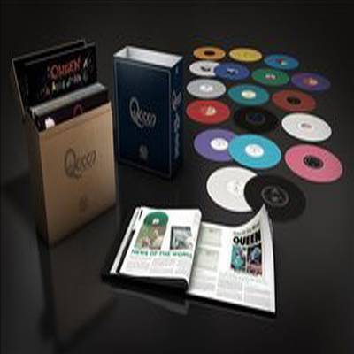 Queen - Complete Studio (Ltd. Ed)(180G)(18LP Boxset)