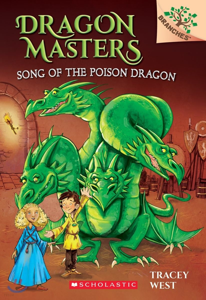 Dragon Masters #5 : Song of the Poison Dragon