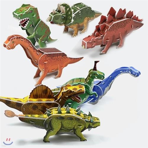 입체퍼즐 공룡시리즈 8종 세트