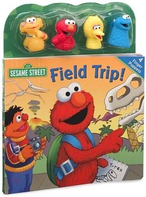 Sesame Street Field Trip! : Book & Finger Puppets