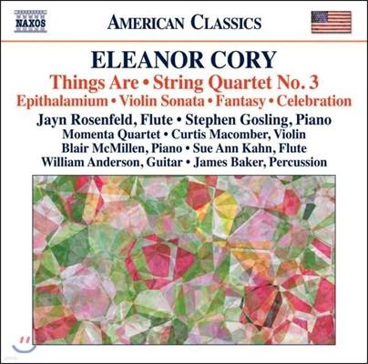 Jayn Rosenfeld 엘리노어 코리: 현악 사중주 3번, 바이올린 소나타 1번 (Eleanor Cory: Things Are, String Quartet)