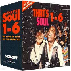 That's Soul 1-6 The Stars Of Soul And Their Famous Hits