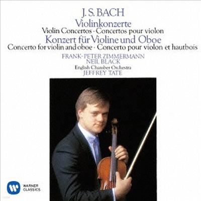 바흐: 바이올린 협주곡 1, 2번, 바이올린과 오보에 협주곡 (Bach: Violin Concerto BWV1041 & 1042, Concerto For Violin & Oboe BWV1060) (일본반)(CD) - Frank Peter Zimmermann